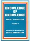 Knowledge of Knowledge Vol-II
